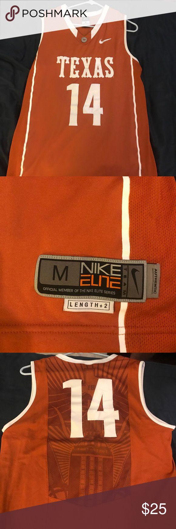 Nike Texas Longhorn Basketball Jersey Fully stitched, size Medium Nike Shirts