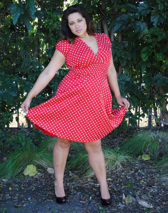 Plus size pin up dresses usa