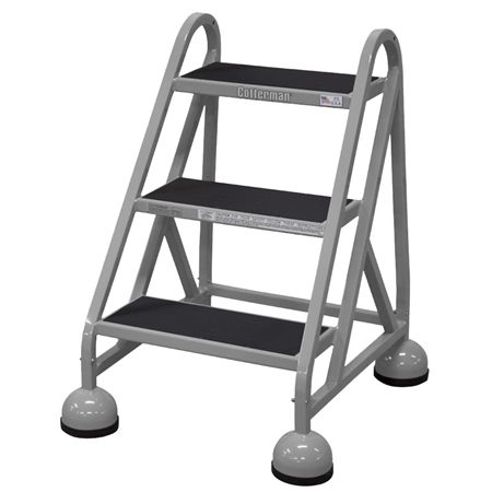 Cotterman Rolling Step Stools