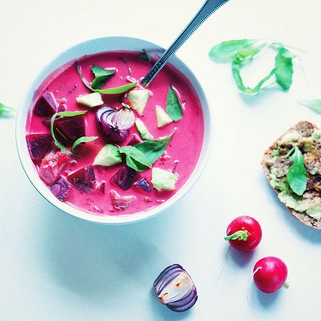 Pink coconut soup by run_olya_run, via Flickr