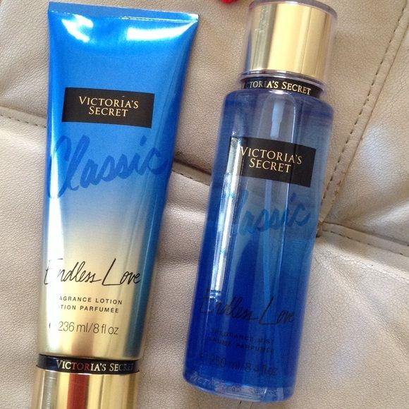 Endless love Victoria secret fragance mist 250 ml and fragance lotion 236 ml Victoria's Secret Makeup