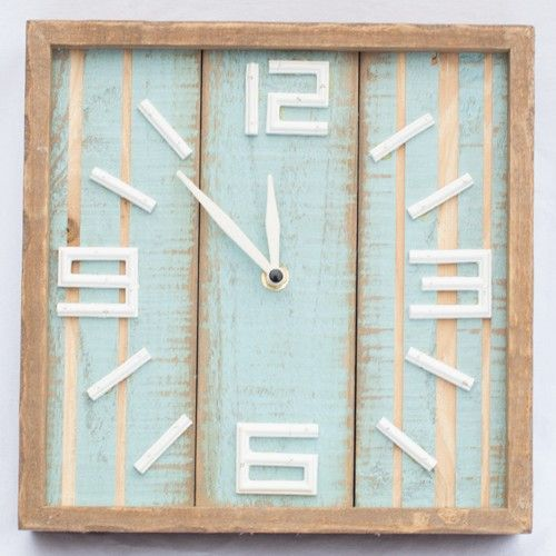 Drifted Wall Clock - Products - 1825 interiors