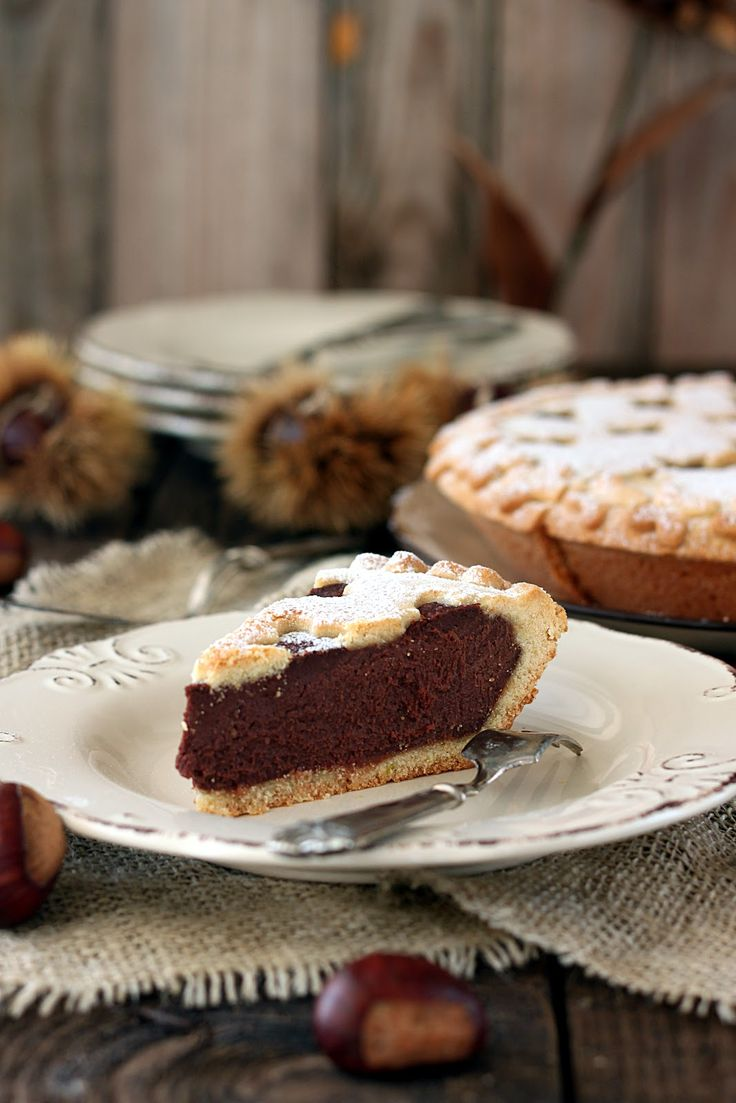 La Cuoca Dentro: Torta di castagne e cioccolato - chestnuts and chocolate cake