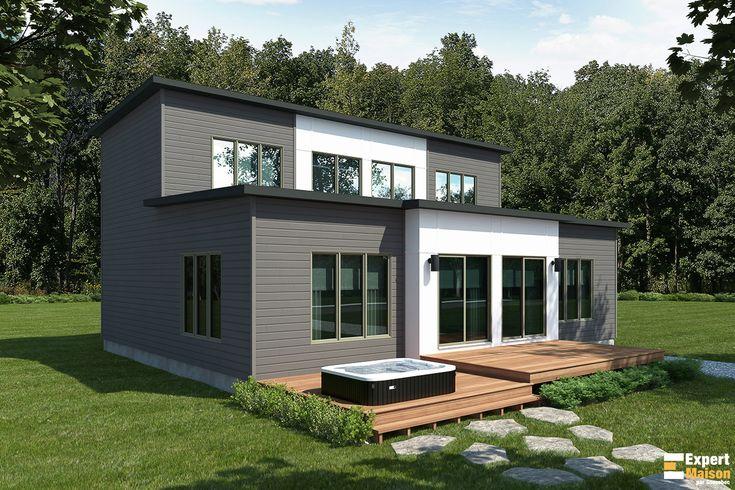 25 best Plans Expert Maison images on Pinterest - plan de maison en v gratuit