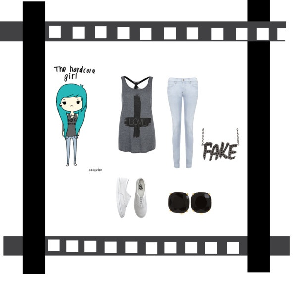 """""""the hardcore girl!"""" by iluvhorses9 ❤ liked on Polyvore"""