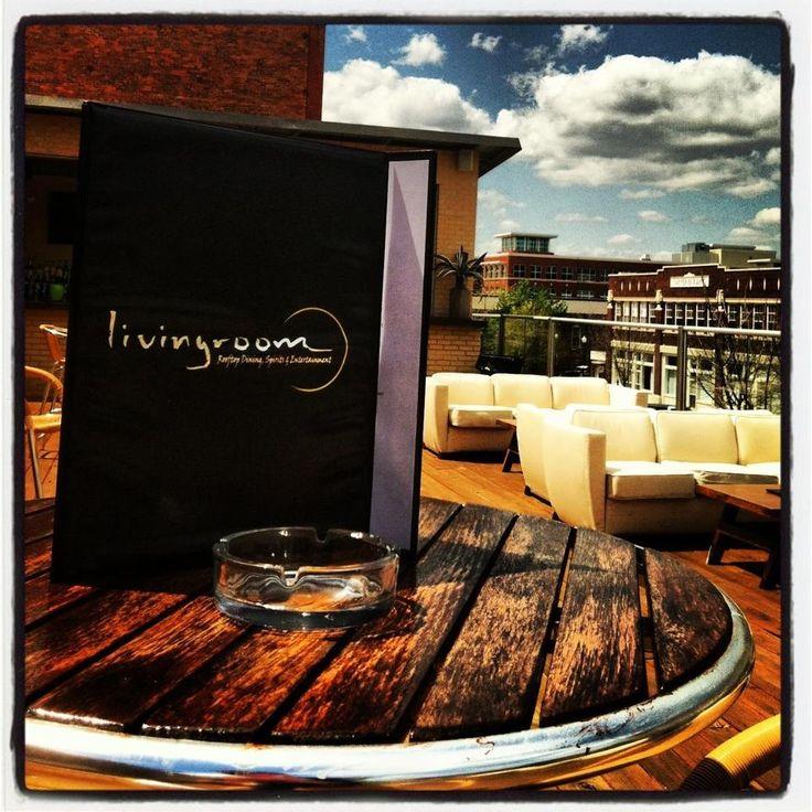 """The Living Room"" Rooftop Outdoor Martini Lounge. Columbus Georgia"