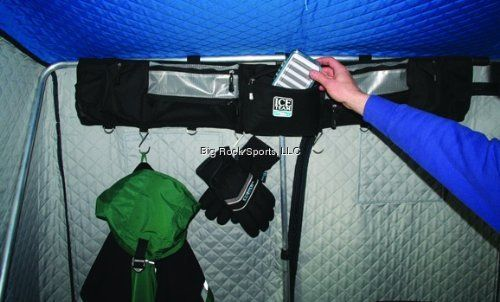Clam ice fishing large fish trap organizer 719921088195 for Ice fishing traps
