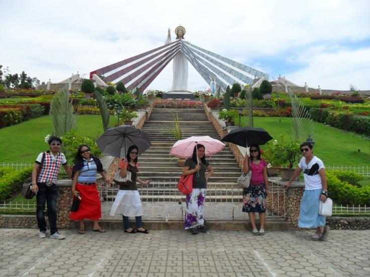 Giant Divine Mercy Shrine at El Salvador,CDO, Philippines