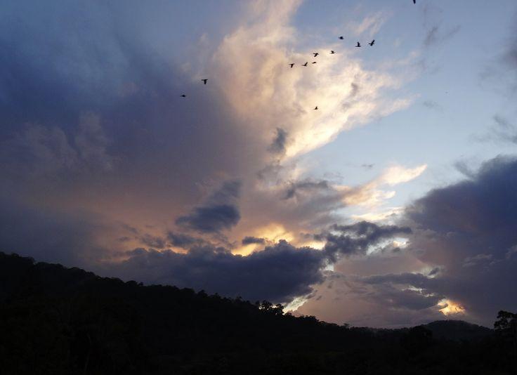 Clearing skies. #EungellaNationalPark #Weather
