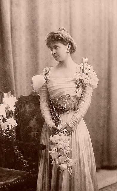 Princess Marie of Edinburgh (later The Queen of Romania). Daughter of Prince Alfred.