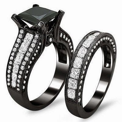 Black diamond ring! WOW. Not as a wedding ring or anything. Just to say I have it.