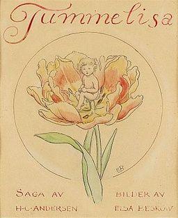 Elsa Beskow, Tummelisa by Hans Christian Andersen.
