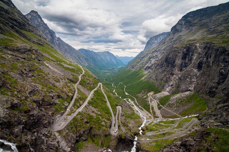 Trollstigen- The Troll`s Road , Norway by Aleksei Golubovich on 500px