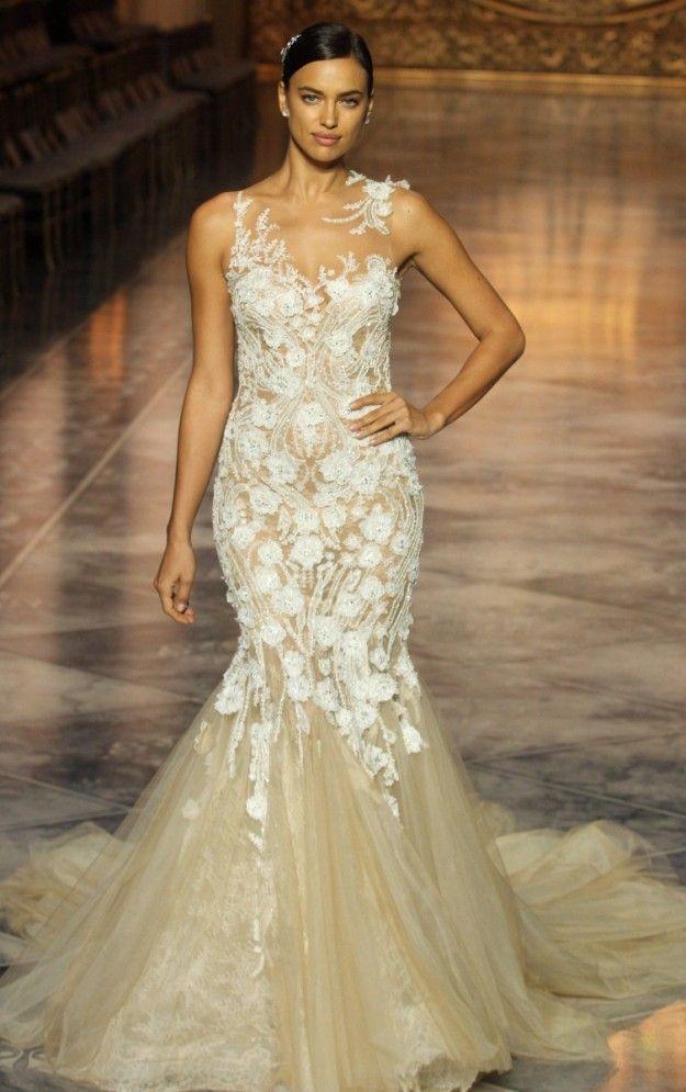 Irina Sayk vestido de novia.