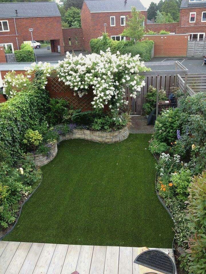 Long Narrow Garden Design Pictures and Garden Designs For ...