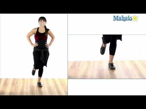 How to Tap Dance: Flap Heel Turns - YouTube