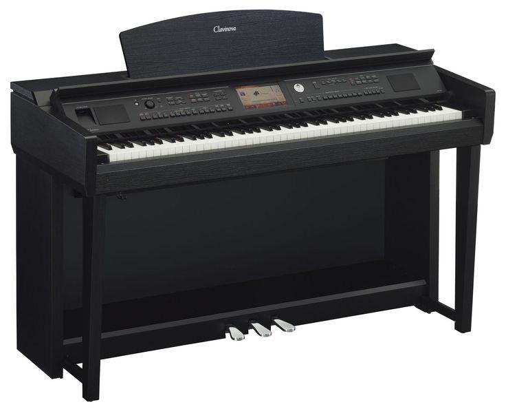 Yamaha CVP 705 B Clavinova Digitalpiano Schwarz Matt