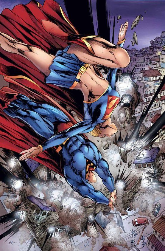 Superman y super chica