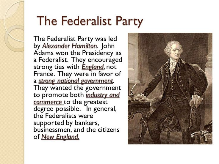 an introduction to the history of the federalist party Find and save ideas about federalist party on pinterest | see more ideas about hamilton, democratic party history and phillip hamilton.