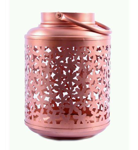 Garden Lantern Copper Finish