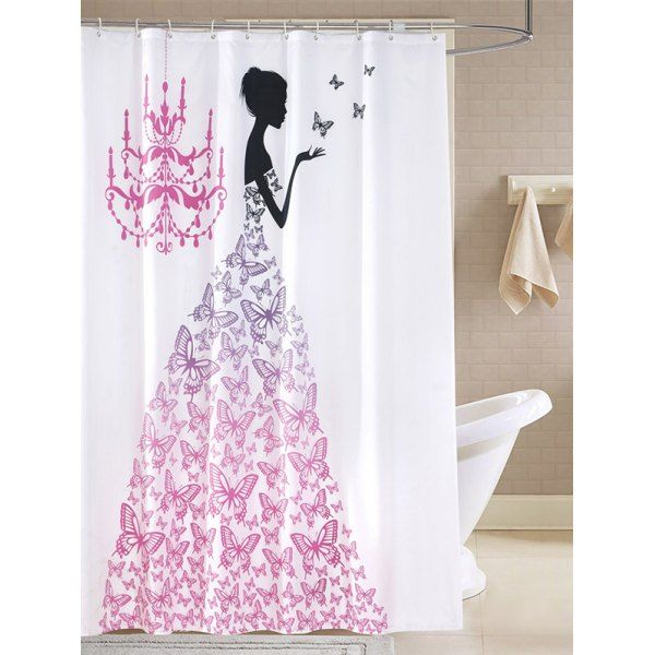17 best splish splash taking a bath images on pinterest 1359 bathroom butterfly fairy waterproof shower curtain gumiabroncs Images
