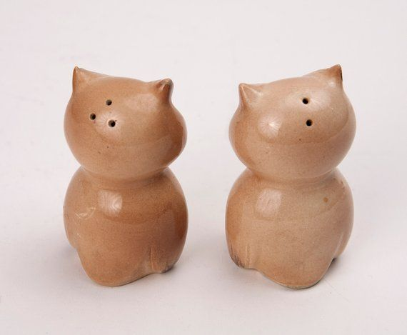 Occupied Japan Woot Woot Owl Salt and Pepper Shakers