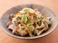 sounds yummy「豚肉と白菜のしょうがあんかけ」の料理レシピ/完成イメージ