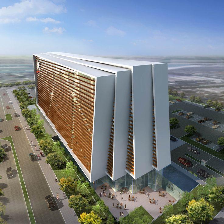 LAN Airlines Headquarters   Arquitectonica