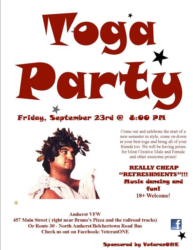 Greek Toga Party Flyer Google Search Toga Party Greek Toga Toga