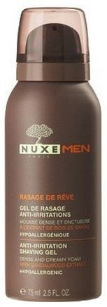 Nuxe Homme Rasage de Rêve Gel Anti-irritations 75ml - Pharmacie Lafayette - Rasage