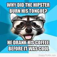 hipster...lol...plus, raising brain cancer awareness