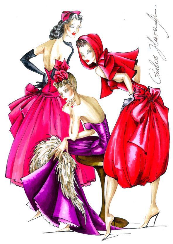Maniquí http://www.pinterest.com/klonci/fashion-illustrations/