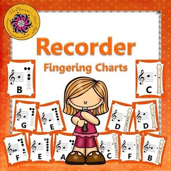 135 best Recorders images on Pinterest Music education, Music - recorder finger chart