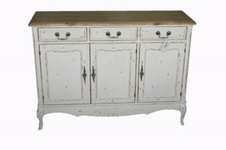 French Country 3 Door 3 Drawer Buffet   Eureka Street Furniture