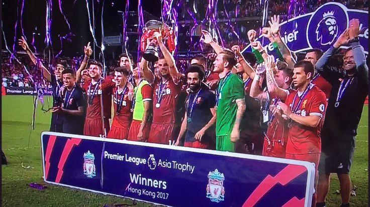 Liverpool FC premier league Asia cup winners 2017