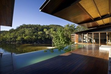 Cottage Point House - contemporary - Pool - Sydney - Richard Cole Architecture