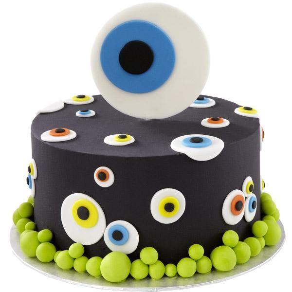 865cc90aca181ac7326459844d09f270jpg (569×640) festa miguel - decorating halloween cakes