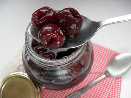 CEREZAS AL MARRASQUINO ~ Aromas de Mamá | Recetas de Cocina | aromasdemama.com