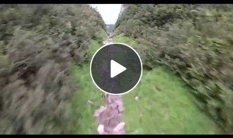 Scotty Bob - Amazing Wingsuit Proximity Flying POV