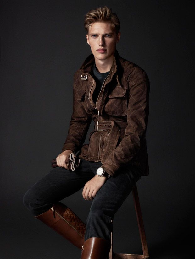 Victor Nylander by Hunter & Gatti for Massimo Dutti Equestrian Fall Winter 2014-2015 Lookbook