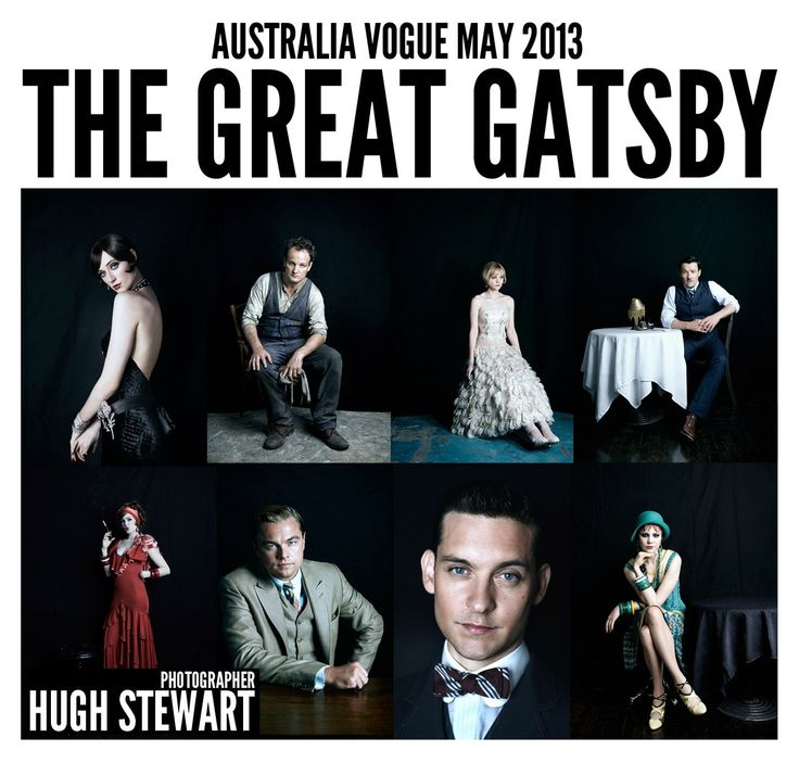 The Great Gatsby (2013) | The cast as photographed by Hugh Stewart for Australian Vogue.