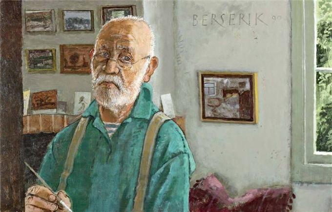 soyka62 - Hermanus (Herman) Berserik (1921 - 2002) - Dutch painter and print maker.