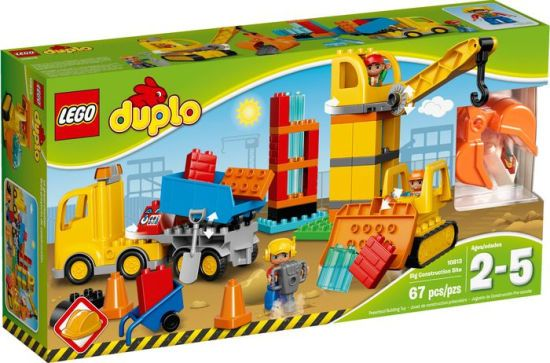 Alternative view 1 of 10813 LEGO DUPLO Town Big Construction Site