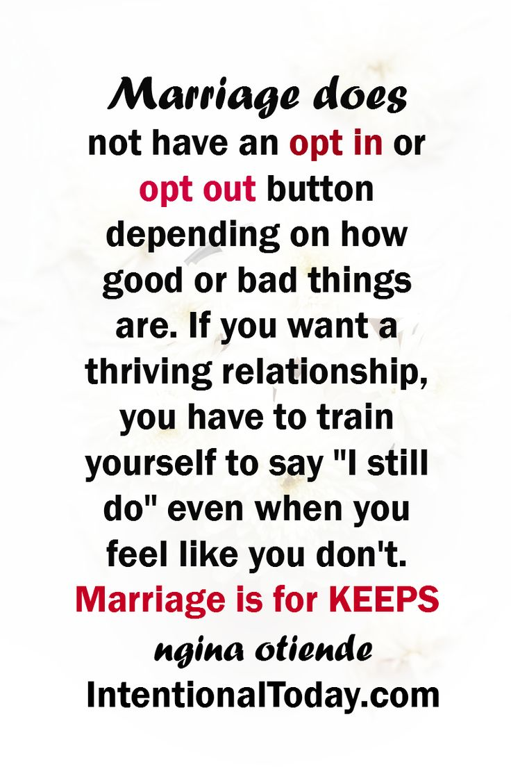 Marriage is for KEEPS! #BluestoBlissBook
