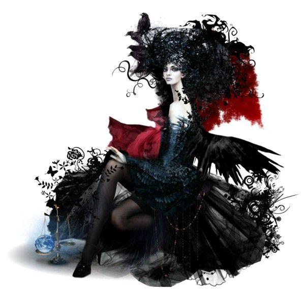 Fortuna Imperatrix Mundi by matildaaah on Polyvore featuring art