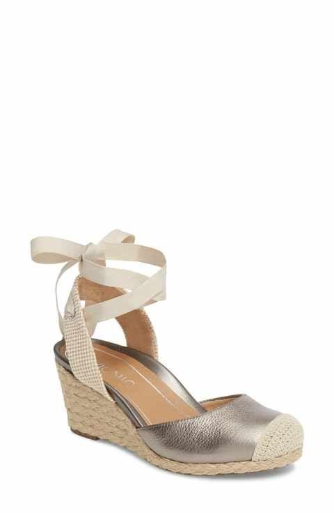 cff436f7da4 Vionic Maris Orthaheel® Espadrille Wedge Sandal (Women) | Kicks ...