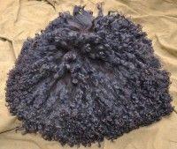 Папаха горская 2, овчина черная длинный ворс