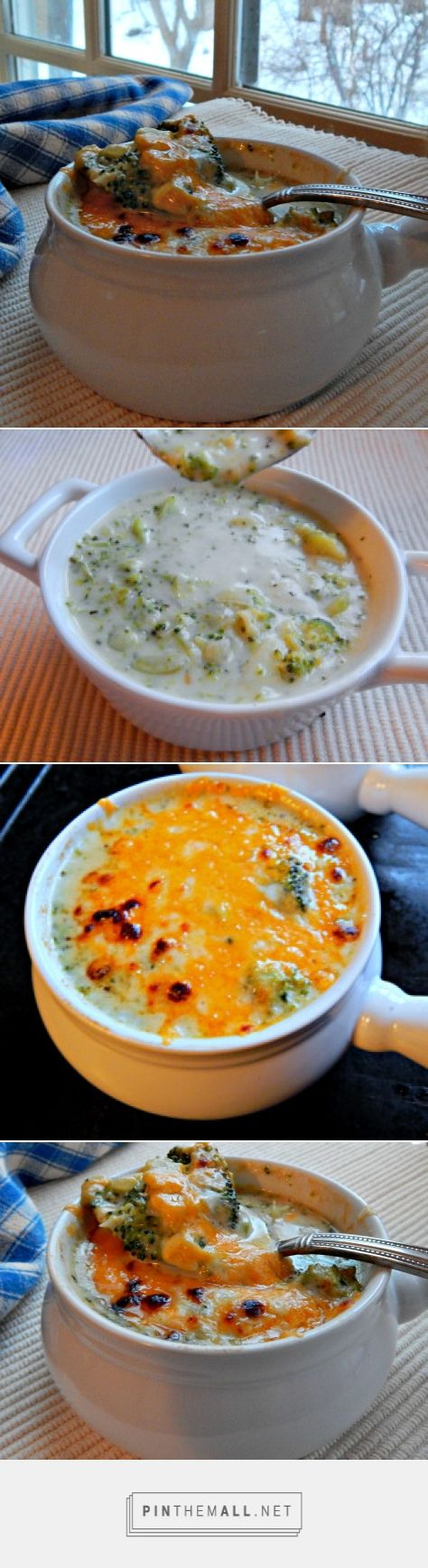 Russell's Cream of Broccoli Soup with Cheddar Crust | Frugal Hausfrau An out of this world fantastic Broccoli soup, originally from Russell's Restaurant in Bloomsburg, PA. Quick, easy and a great soup for family or company! http://frugalhausfrau.com/2015/02/23/epicurious-cream-broccoli-soup-cheddar-crust/