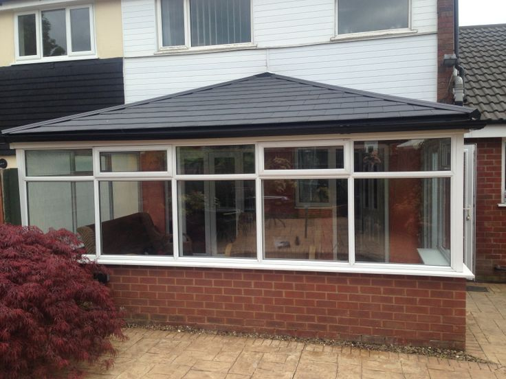 Just finished this Tiled Real Roof Conservatory www.realroofconservatories.com
