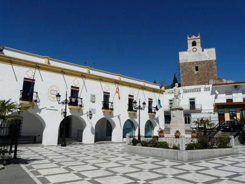 Plaza Mayor de Barcarrota.
